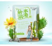 Увлажняющая маска с экстрактом кактуса BioAqua Natural Extract Mask