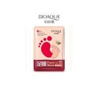 Медовая маска-носочки для ног BioAqua Honey Foot Mask