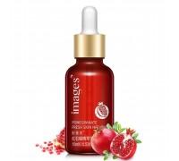 Сыворотка для лица с гранатом и гиалуроновой кислотой images pomegranate skin natural fresh