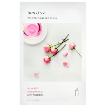 Маска с розовой водой на водной основе INNISFREE My Real Squeeze Mask Rose