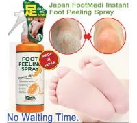 СУПЕР НОВИНКА!!!Пилинг для ног Graphico Foot Peeling Spray Orange Oil 110ml,ЯПОНИЯ