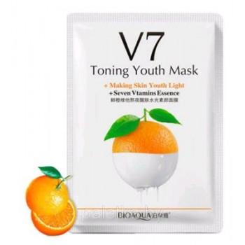 Увлажняющая маска Bio V7 Toning Youth Mask,Апельсин