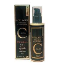 Стойкий тональный крем Privia U Collagen Premium Foundation 86.5% SPF 30 PA++ 4 in 1 № 13 (100 мл)