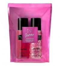 Подарочный набор Victoria Secret TEMPTATION Mini Fragrance Shimmer Mist