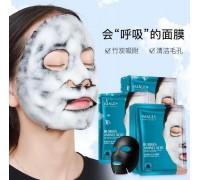 ХИТ ПРОДАЖ!!!Пузырьковая маска на тканевой основе IMAGES Bubbles Amino Acid