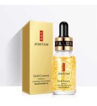 Сыворотка уменьшающая поры с частичками золота JOMTAM Gold Luxury Essence ,15мл