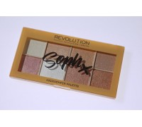 Палетка хайлайтеров Revolution Soph X Highlighter Palette