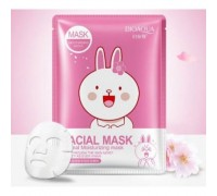 Маска для лица с экстрактом сакуры Bioaqua Friend Facial Mask