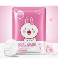 Маска для лица с экстрактом сакуры Bioaqua Friend Facial Mask