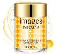 Крем- сыворотка для кожи вокруг глаз против мимических морщин с золотыми шариками IMAGES, 30 гр
