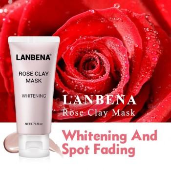 Глубоко увлажняющая,питательная,отбеливающая,очищающая поры Lanbena Rose,50гр