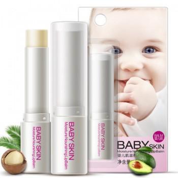 Увлажняющий бальзам для губ BIOAQUA BABY SKIN 1