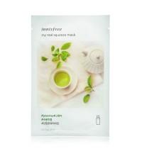 Маска на водной основе с экстрактом зеленого чая INNISFREE My Real Squeeze Mask Green Tea