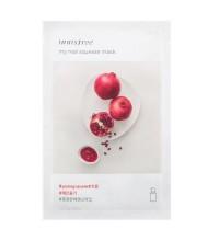 Маска на основе увлажняющей эссенции с экстрактом граната INNISFREE My Real Squeeze Mask Pomegranate