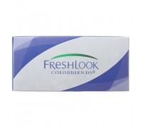Контактные линзы FRESHLOOK COLORBLENDS(Glaze Black)Черные