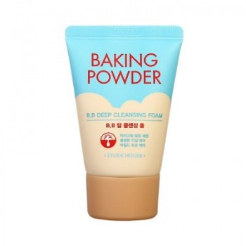 Пенка для умывания и глубокой очистки ETUDE HOUSE Baking Powder BB Deep Cleansing Foam,30ml