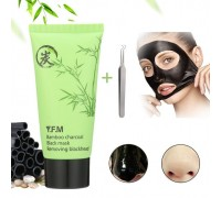 Чёрная маска-плёнка для глубокого очищения и удаления чёрных точек Y.F.M