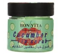 Скраб для губ BONVITA Cucumber Lip Skrub,50гр (з)