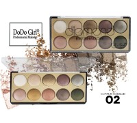 Запеченные тени для век DoDo Girl Diamond,02